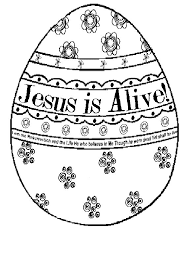Free Religious Easter Coloring Pages