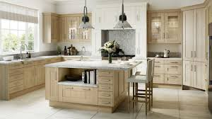 timber sand oak shaker our kitchens mackintosh kitchens