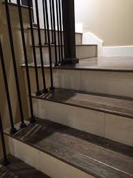 Wood Stair Nosing For Tile by Best 25 Tile Stairs Ideas On Pinterest Stair Landing Spanish