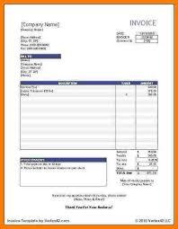 5 invoice templates open office