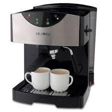 Mr Coffee ECMP50 NP 2 Cups Espresso Machine