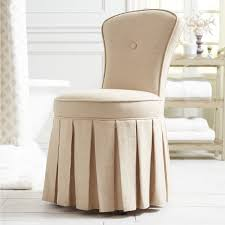 beautiful vanity chair with skirt hd9f17 tjihome