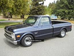 1969 Chevrolet C10 Short Bed Fleetside A / C Truck Wood Bed