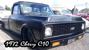 1972 Chevy C10 Pickup Truck - Slammed And Bagged - YouTube