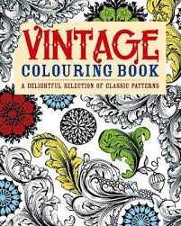 Vintage Colouring Book By Arcturus Publishing