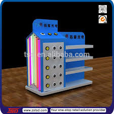 TSD A085 Custom Switch ABS Injection Moulding Counter Pos Displayslight Bulb Display Case