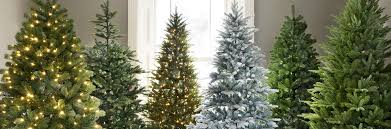 Slimline Christmas Tree by Artificial Christmas Trees Christmas Webbs Garden Centres