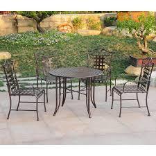 Patio Dining Sets Walmart by Amazon Com International Caravan Mandalay Iron Outdoor Patio