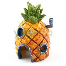 Spongebob Aquarium Decor Set by Aquarium Ornament Home Decoration Spongebob Squarepants Pineapple