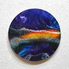 original abstrakte malerei resin kunst bild harz gemälde unikat handgemalt hochglanz wandbilder direkt vom künstler fh wohnung deko wohnzimmer