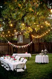 Backyard Party Decorating | Backyard Design Ideas | Pinterest ... Backyards Awesome Decorating Backyard Party Wedding Decoration Ideas Photo With Stunning Domestic Fashionista Al Fresco Birthday Sweet 16 Outdoor Parties Images About Paper Lanterns Also Simple Garden Rainbow Take 10 Tricia Indoor Carnival Theme Home Decor Kid 39s Luau Movie Night Party Ideas Hollywood Pinterest Design Deck Kitchen Architects Deck Decorations For Anniversary