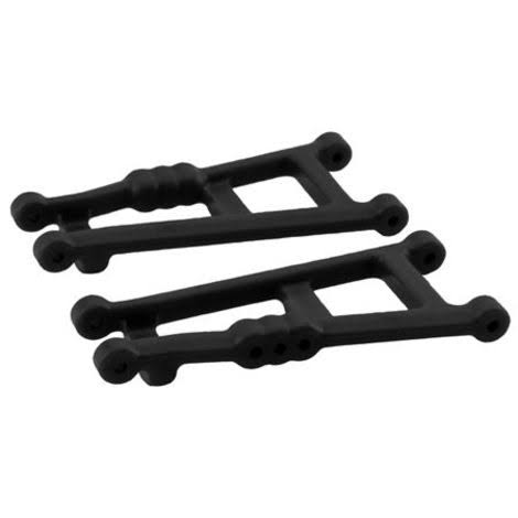 RPM 2wd Rear Suspension A-arms Black Traxxas Rustler