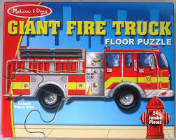 100 Melissa And Doug Fire Truck Puzzle Euphoria Auction Giant Floor 426