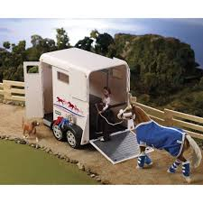 BREYER TRADITIONAL SERIES HORSE TRAILER. Horseland. John Deere Toys Monster Treads Pickup Hauler With Horse Trailer At Breyer Stablemates Animal Rescue Truck The Play Room 5356 Pickup And Gooseneck Ebay Giddy Up Go 701736 Dually Identify Your Accsories 132 Model By Loading Mini Whinnies Horses In Ves Car Drama At Show