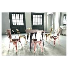 Metal Dining Chairs Target Kitchen Set Industrial Style Simple
