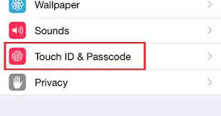 Disabling passcode or password on iPhone 6 5s 5