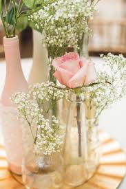 Decorative Wine Bottles Diy by Diy Centerpiece Blush Roses Gold Charger Painted Wine Bottles