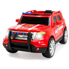 100 Fire Truck Ride On Best Choice Products 12V Kids Battery Powered Truck RC Remote