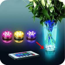waterproof multi colored led light bulb submersible rgb cold