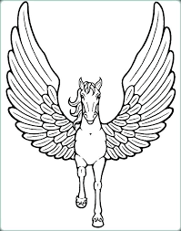 Unicorns Coloring Pages Cute Unicorn Coloring Pages To Print Flying