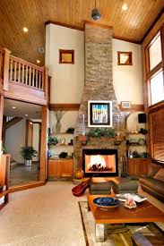 Home Designs Living Room Design With Tv Rustic Ideas 14 1504024742 Lcd On Wall