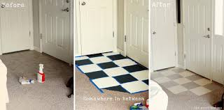 Small Foyer Tile Ideas by The Moon And Me Painting A Tile Floor Tips And Grumbles