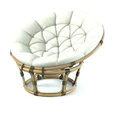 Big Round Chair With Cushion Circular Circle