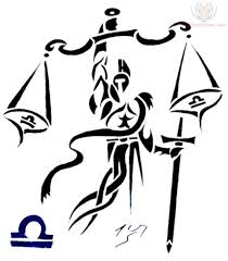 Libra Tattoo Designs Men