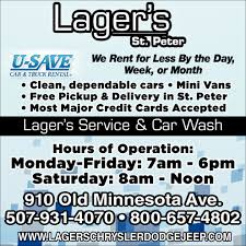 Lager's Service & Car Wash, Lager's St. Peter, Saint Peter, MN Car Rental Missoula From 22day Search For Cars On Kayak Capacity Spotter Truck Dealer Blaine Brothers Mn Chevrolet Serving Minneapolis Suburban Sallite Truck Wikipedia Hire In South Africa Bidvest Cargo Van United States Enterprise Rentacar Defing A Style Series Moving Redesigns Your Home Prevailing Wage Region 6 Minimum Rental Rates Minnesota Dump Hauling Equipment Service St Cloud 2015 Ford E350 Trucks Box In For Sale Used The Latest Amtrak Speedcontrol Technology Was Months Away Am