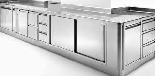 cuisine inox sur mesure mobilier plan de travail inox sur mesure gw inox à meuble cuisine