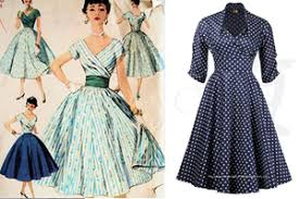 Some Of The Key Looks 1950s