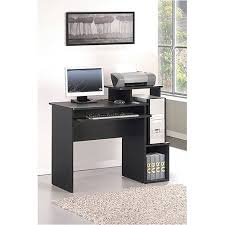 Furinno Simplistic Computer Desk by Furinno 12095bk Br Econ Multipurpose Home Office Computer Writing