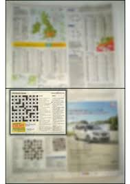Crossword blog Which newspaper is most crossword friendly