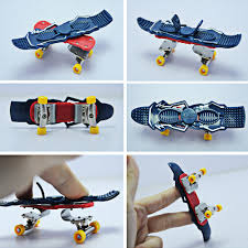Mini Rebound Fingerboard Skate Trucks Finger Skateboard Toy For ...