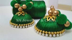 How To Make Silk Thread Earrings Using Velvet Balls At Home ... How To Make Pearl Bridal Necklace With Silk Thread Jhumkas Quiled Paper Jhumka Indian Earrings Diy 36 Fun Jewelry Ideas Projects For Teens To Make Pearls Designer Jewellery Simple Yet Elegant Saree Kuchu Design At Home How Designer Earrings Home Simple And Double Coloured 3 Step Jhumkas In A Very Easy Silk Earring Bridal Art Creativity 128 Jhumka Multi Coloured Pom Poms Earring Making Jewellery Owl Holder Diy Frame With