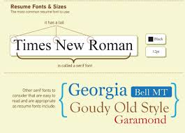 The Nitty Gritty Of Resume Font Size And Formats Templates Ideas Good