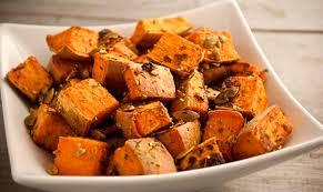 Roasting Pumpkin Seeds In The Oven Cinnamon by Roasted Sweet Potatoes With Pumpkin Seeds The Vegan Road