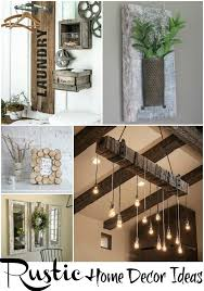 Country Home Decor DIY 16 DIY Rustic Decor Projects