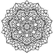 Heart Mandala Coloring Pages For Adults