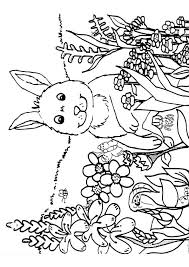 Free Printable Spring Coloring Pages Springtime