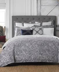 closeout tommy hilfiger josephine paisley bedding collection