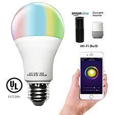 lohas smart led bulb wi fi light multicolored led bulbs ul