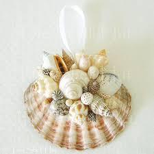 Seashell Christmas Tree Garland by How To Make Seashell Christmas Tree Ornaments Google Search