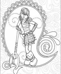 Dragons Coloring Page 4 Viking PartyColoring Book PagesTrain Your DragonHow