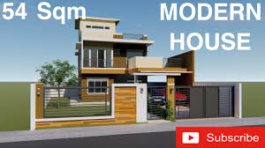 100 2 Storey House With Rooftop Design MODERN HOUSE DESIGN 3D With Walk Through Storey Residential With Roof Deck