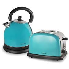 Image Is Loading TURQUOISE CORDLESS KETTLE 1 8L JUG Amp TWO