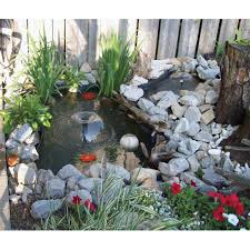 Koolscape 400 Gal Liner Pond Kit With Solar Light - Walmart.com Backyard Water Features Beyond The Pool Eaglebay Usa Pavers Koi Pond Edinburgh Scotland Bed And Breakfast Triyaecom Kits Various Design Inspiration Perfect Design Ponds And Waterfalls Exquisite Home Ideas Fish Diy Swimming Depot Lawrahetcom Backyards Terrific Pricing Examples Costs Of C3 A2 C2 Bb Pictures Loversiq Building A Garden Waterfall Howtos Diy Backyard Pond Kit Reviews Small 57 Stunning With