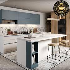 Moderne Weisse Küchen Bilder Moderne Einbauküche Modo L Form Küche Mit Kochinsel Weiß Grau