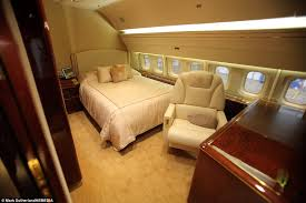 Private Jet Interior Bedroom