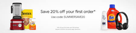 Google Express Code: Save 20% On Your First Order ... Google Shipping Coupon Codes What Does One Per Todays Best Deals Airpods Pro 55 Instant Pot 5 Alexa How To Use Aliexpress Coupons Guide Updated Dec 2019 Priceline Promo Code December 30 Off Hotel Mess Free Pet In A Jar 15 Time Saving Express Book On Klook Blog 20 Fiverr Coupon I Love Good Promo Code Discount Options Codes Chargebee Docs Gett Taxi App Gtbporr For Off Your Next Rides